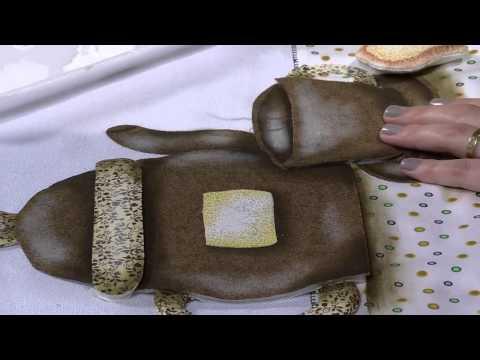 Mulher.com 22/04/2013 Priscila Muller - Pano de copa pintura efeito 3D ...