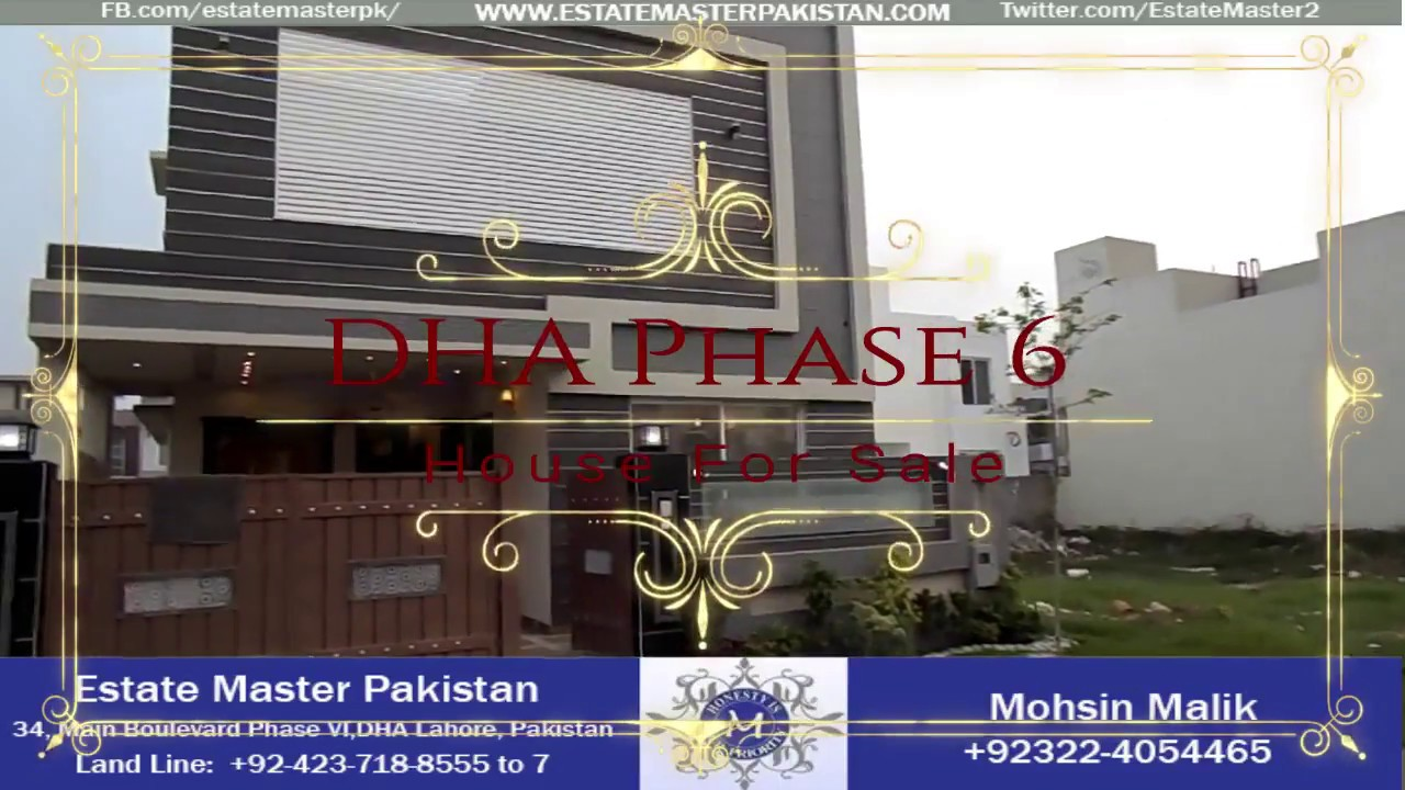 7 Marla Brand new classical House For Sale In DHA Phase 6 Lahore