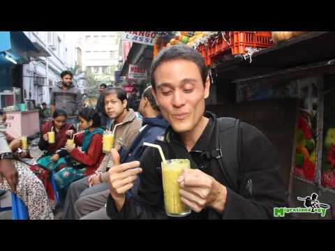 Video Indian Mango Lassi - The Best Mango Smoothie I've Ever Had in Kolkata, India! download in MP3, 3GP, MP4, WEBM, AVI, FLV January 2017
