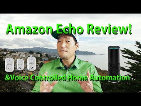 Amazon Echo Review & Voice Controlled Home Automation HOWTO w/ WeMo!