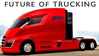 Imagining the future of the vast trucking industry that will become autonomous in the coming years.Subscribe for our newest TDC original mini-documentary: http://bit.ly/2pu8oNzVideo by Bryce Plank and Robin West.More information on this topic:The future of trucking: http://tcrn.ch/2f1cx2Z http://bit.ly/2pyRU2KTesla's electric truck: http://bit.ly/2nKwlQiPlatooning: http://bit.ly/2eg8UKiTruckers discuss the future of trucking: http://bit.ly/2oG2MM9Script:The semi-truck. Our modern lives are completely dependent on them. Look around you. Every object you see probably traveled on at least one big rig. Here in America, truckers make up 2% of the workforce. But with multiple game-changing technologies converging simultaneously — and the relentlessness of the hyper-competitive global marketplace — the industry will be revolutionized within the next two decades.This is an examination of the future of trucking. Before we get into the technology that will turn it all upside-down, we must first understand the way this extremely fragmented industry works now. To the numbers! There are about 3 million drivers for 2.5 million trucks in the US. Those trucks are owned by 532,000 carrier companies, but 90% of these fleets have fewer than six trucks—and half of all carriers are single individuals who own and operate their own rig. Then you have the middlemen, the freight brokers. These 13,000 companies play matchmaker between the manufacturers and wholesalers (who are trying to get their goods to market) and the retailers (who make the final sale to the consumer).Because this industry is so splintered, there aren't universal software systems tying it all together. In fact, 67% of shippers don't use software at all and rely solely on paper records—in 2017!This creates tremendous inefficiency. When every piece of information has to be communicated through human interactions, drivers are frequently forced to wait hours to book or pick-up a load. And sometimes they just don't, an estima