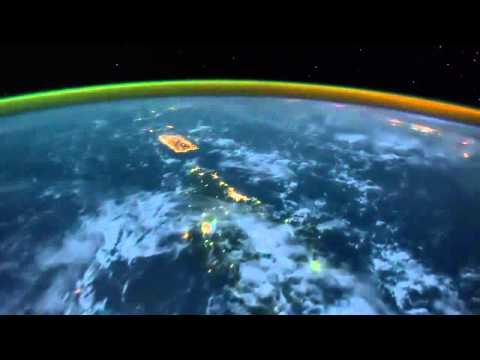 un filmato sulla terra mozzafiato:le riprese della nasa sono incredibili