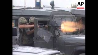 Ramallah Palestinian  City pictures : ISRAEL/RAMALLAH: PALESTINIANS CLASH WITH ISRAELI POLICE