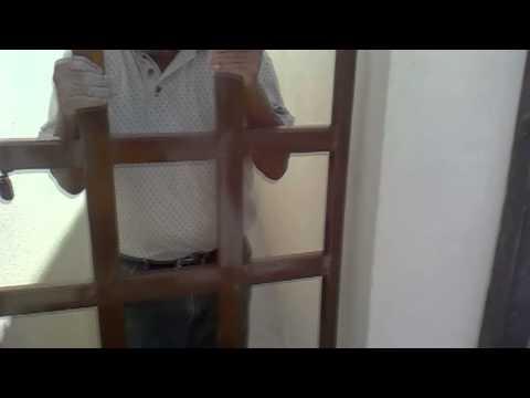 Como instalar una puerta de fierro a una pared - HD