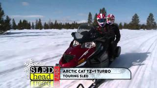 10. Snow Shoot 2012 Groomed Trail and Touring sleds (part 1 of 4)