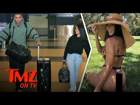 Kourtney Kardashian's Boyfriend Shades Her Hot Booty Pic | TMZ TV