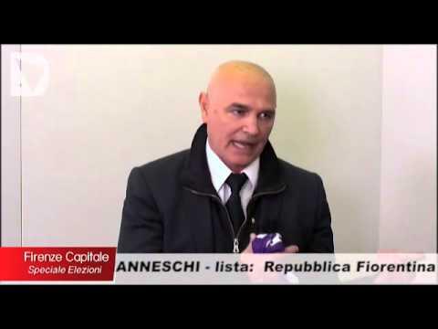 Il candidato a sindaco di Firenze Paolo Manneschi ospite di Firenze capitale speciale elezioni, condotto da Elisabetta Matini.