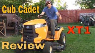 9. Cub Cadet XT1 Review:  50 inch 24 HP Lawn Tractor