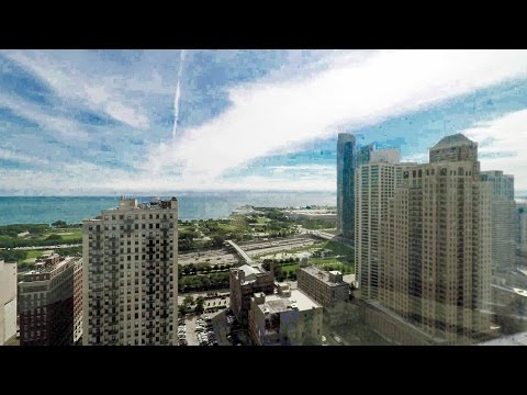 Tour a South Loop lake view 1-bedroom at the new 1001 South State