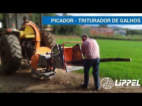 Picador / triturador de galhos - PDU 1000 T