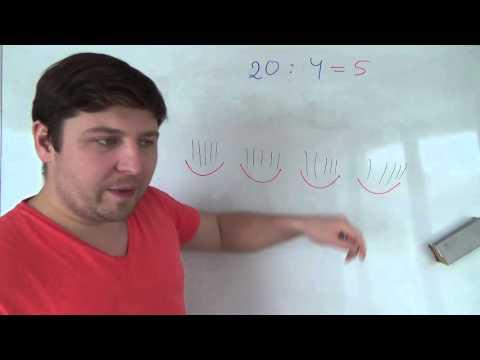 Математика 3 класс. Два способа деления