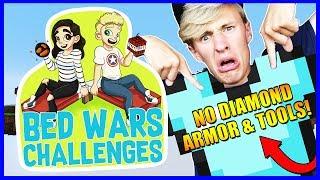 NO DIAMONDS CHALLENGE! | Bedwars Challenges #3 | With NettyPlays