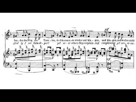 Robert Franz - Aus meinen großen Schmerzen, op. 5 Nr. 1 (H. Heine)