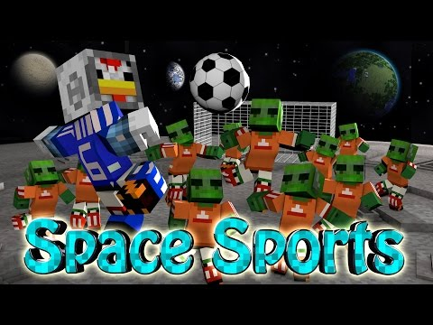 soccer - Minecraft gets a brand new Minecraft Challenge! This is the Minecraft Sports Challenge. This Sports Challenge is Football or Soccer! This is the Space Football Challenge where Joe and I are...