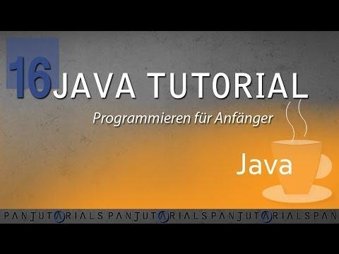 Java Tutorial Programmieren für Anfänger 16 — Methoden mit Parametern