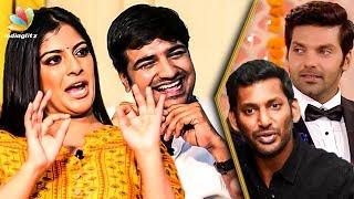 Video Varalakshmi's Punishment to Arya & Vishal : Hilarious Interview | Sathish | Mr. Chandramouli MP3, 3GP, MP4, WEBM, AVI, FLV Februari 2019