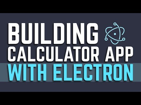 How to Build Calculator App | Project in Electron | Eduonix