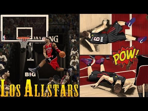 NBA 2K13 AllStars - Chris Smoove Gets PUNCHED 8 Times By VC Jr. ! | Justin Bieber, Were Sorry !_Basketball. NBA, National Basketball Association best videos. Sport of USA, NBA