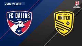FC Dallas vs. New Mexico United | HIGHLIGHTS - June 19, 2019 by Major League Soccer