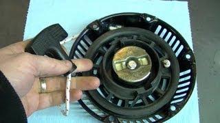 HOW TO - Generator Pull Cord Repair