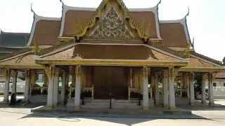 バンコク市内観光トリムック宮殿