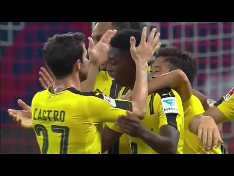 Manchester United vs Borussia Dortmund 1-4 Goals and Highlights