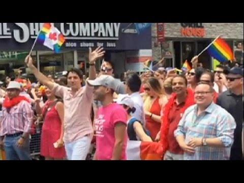 Στο Gay Pride του Τορόντο ο Καναδός πρωθυπουργός