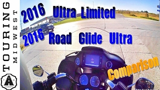 8. 2016 Harley Davidson Road Glide Ultra vs. Ultra Limited | Comparison