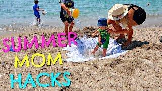 Video SUMMER MOM HACKS  |  SUMMER MUM HACKS  |  BEACH HACKS MP3, 3GP, MP4, WEBM, AVI, FLV September 2018