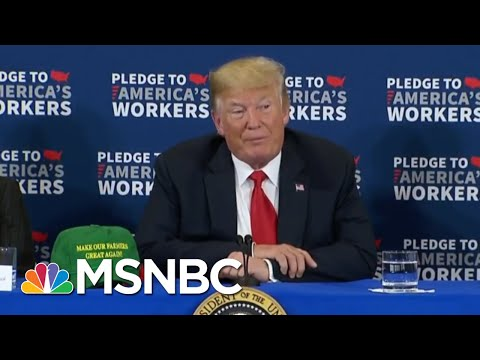 Don McGahn Reportedly Stopped Trump From Prosecuting Clinton And Comey | Velshi & Ruhle | MSNBC