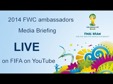 REPLAY: Brazil 2014 Ambassadors, media briefing
