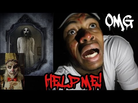 BLOODY MARY AND CANDY MAN CHALLENGE!!! I WAS ATTACKED BY A DEMON!!!