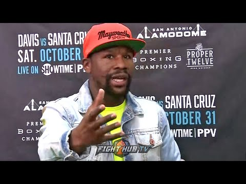 "FLOYD MAYWEATHER REACTS TO LOMACHENKO LOSING TO TEOFIMO LOPEZ ""YOU CANT COMPARE LOMA TO ME!"""