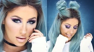 Cool Toned Colorful Eyeshadow Tutorial + Faux Freckles- CHRISSPY by Chrisspy