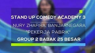 Video Stand Up Comedy Academy 3 : Nury Zhafira, Banjarnegara - Pekerja Pabrik MP3, 3GP, MP4, WEBM, AVI, FLV Januari 2018
