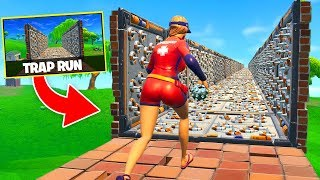 Download Video *NEW* TRAP TUNNEL RACE In Fortnite Battle Royale! MP3 3GP MP4