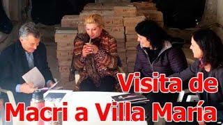 Todo sobre la primera visita de Macri a Villa María como presidente ► http://villamariavivo.com/?s=mauricio+macri&submit=Search