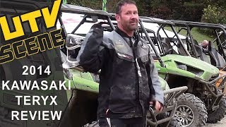 2. 2014 Kawasaki Teryx Ride Review