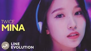 Video TWICE - MINA (Line Evolution) • APR/18 MP3, 3GP, MP4, WEBM, AVI, FLV April 2018