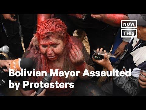 Video - Η Βολιβία στο χείλος του γκρεμού