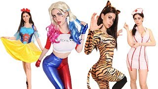 Video Huge Halloween Costume TRY ON HAUL from WISH MP3, 3GP, MP4, WEBM, AVI, FLV Juni 2019