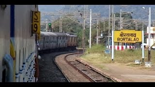 Durg India  city images : DURG To NAGPUR High Speed Run : Onboard GONDWANA Express (Indian Railways)
