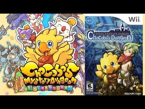 PlayStation 4 vs. Wii de Chocobo's Mystery Dungeon Every Buddy!