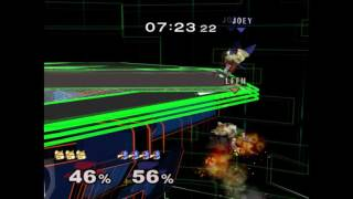 Mango vs. Leffen (TBH4 Game 4) WITH ADDED Techs (TAS recreation)
