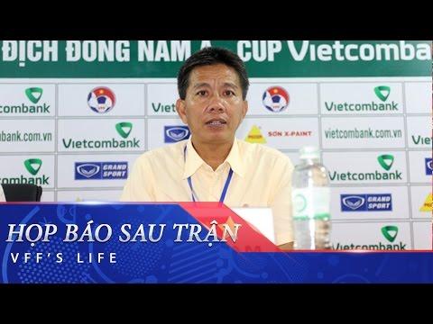 HỌP BÁO SAU TRẬN: TIMOR LESTE VS VIETNAM - U19 ĐNÁ 2016