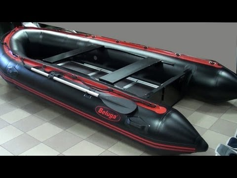 лодка beluga black pro