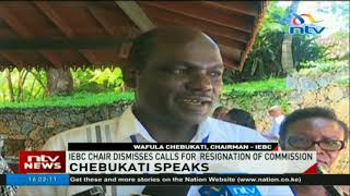 Chebukati gives IEBC top marks - VIDEO