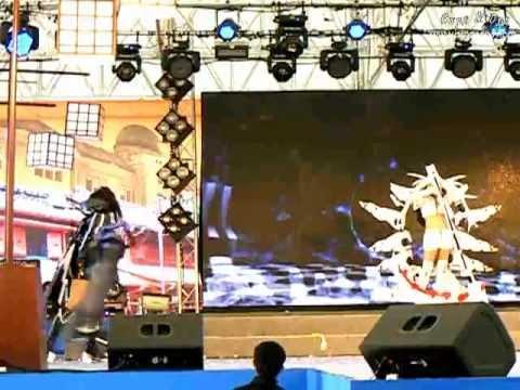 Japan Festa in Bangkok 2012 by Mainichi – Team 9 – Black Rock Shooter The Game