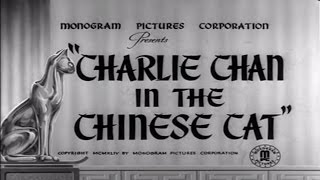26   The Chinese Cat 1944 Excellent