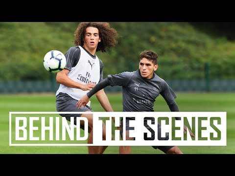 Passing & Goalkeeping Drills | Behind The Scenes At Arsenal Training Centre